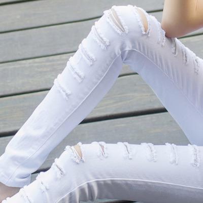 裤裂帛韩版裤子女学生女夏背带裤女宽松西九分牛仔黑色唐狮女装裤