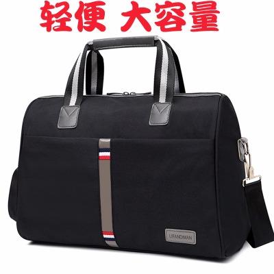 新款短途旅行袋超大容量手提旅行包可装衣服行李包男健身包待产包