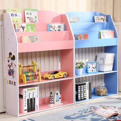 儿童书架简易学生书柜 幼儿园书报架 资料架 杂志架 绘本架展示架